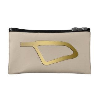 Feather of Maat Egyptian symbol Makeup Bags