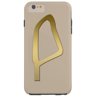 Feather of Maat Egyptian symbol Tough iPhone 6 Plus Case