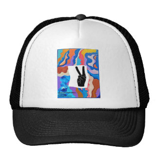 Feather Peace Cap