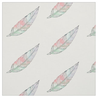 Feather Print Fabric