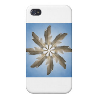 Feather Ring iPhone 4 Cases