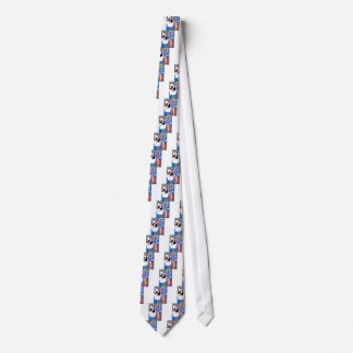 Feather Saxophone Jamming Tie