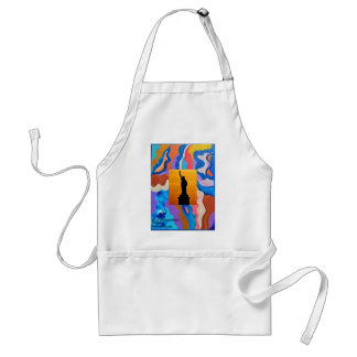 Feather Statue Of Liberty Standard Apron