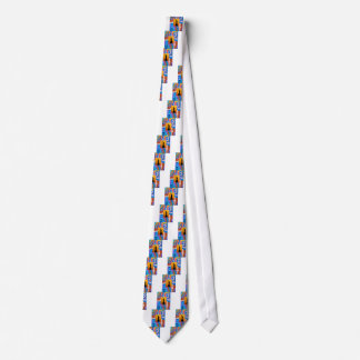 Feather Statue Of Liberty Tie