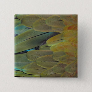 Feather surface 15 cm square badge