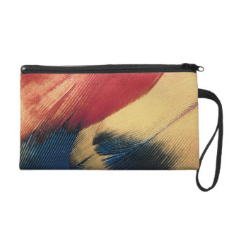 Feather surface 3 wristlet