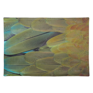 Feather surface placemat