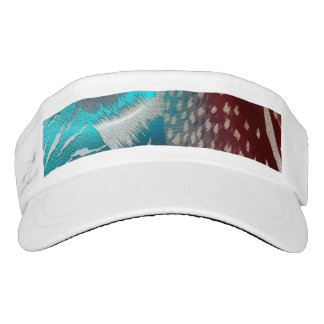 Feather Texture Template Visor
