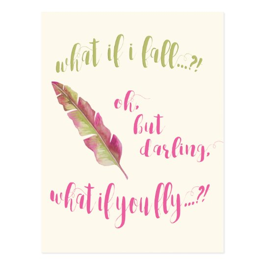 Feather - What if I fall? - Inspirational