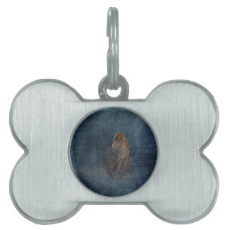 Feather with Meaning Pet ID Tag