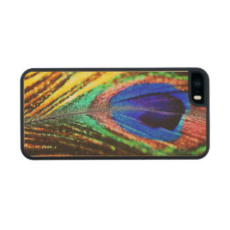 Feather Carved® Maple iPhone 5 Slim Case