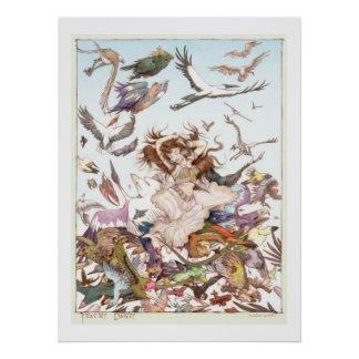 featherdancerdigital-rgb poster
