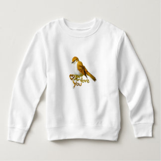 Feathered Ball Sweatshirt