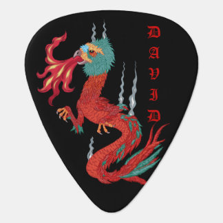 feathered dragon plectrum