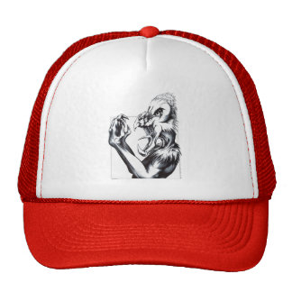 Feathered Fiend Mesh Hat