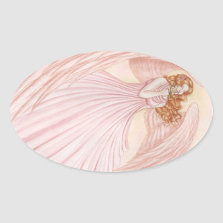 Feathered Friends Oval Sticker