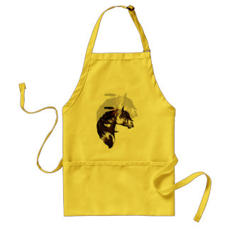 Feathered Paint Horse shadowed Apron