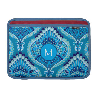 Feathered Paisley - Blueish Sleeve For MacBook Air