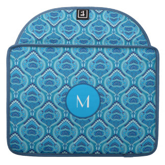 Feathered Paisley - Blueish Sleeves For MacBook Pro