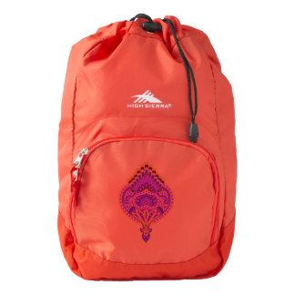Feathered Paisley - Pinkoinko Backpack