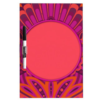 Feathered Paisley - Pinkoinko Dry Erase Board