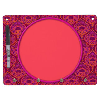 Feathered Paisley - Pinkoinko Dry-Erase Boards