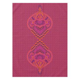 Feathered Paisley - Pinkoinko Tablecloth