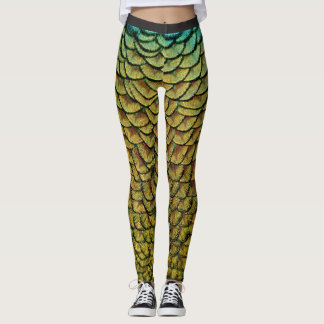 Feathers and Scales   Leggings
