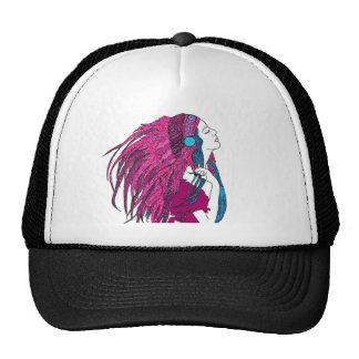 Feathers Cap