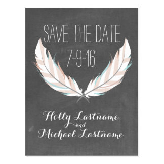 Browse the Chalkboard Save The Date Postcards Collection and personalise by colour, design or style.