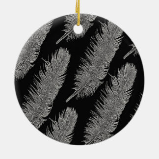 Feathers Christmas Ornament
