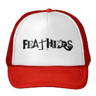 FEATHERS CUSTOM CAP BY WASTELANDMUSIC.COM
