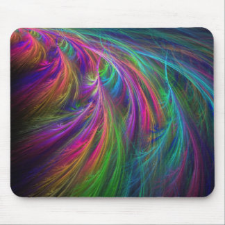 feathers of dream mouse mat