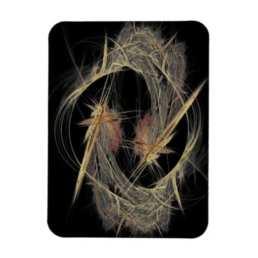 Feathers Vinyl Magnet