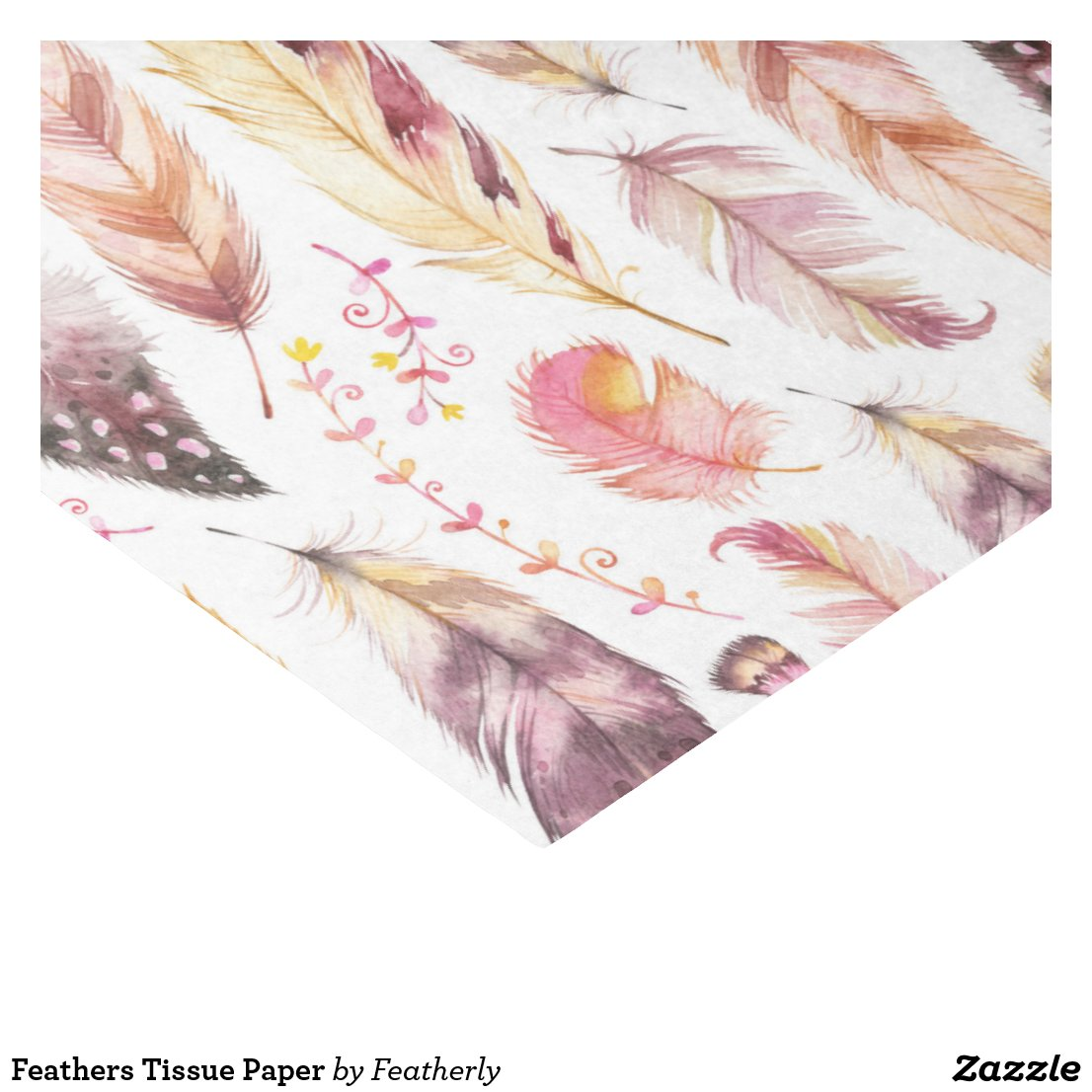 Feathers Tissue Paper