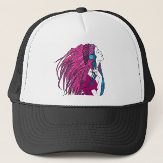 Feathers Trucker Hat
