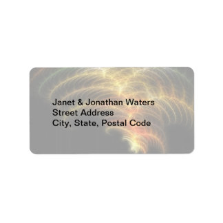 Feathery 1 address label