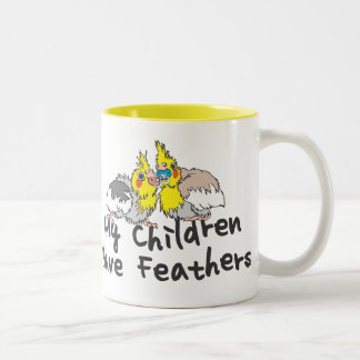 Feathery Children Mug