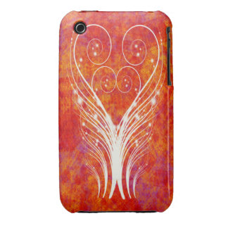 FEATHERY SWIRLS iPhone 3 Case-Mate Case