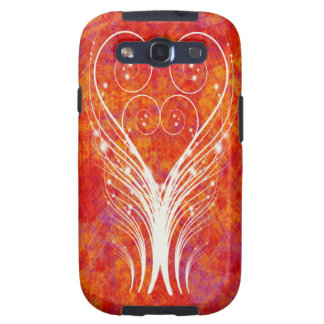 FEATHERY SWIRLS Samsung Galaxy S 3 Case Galaxy S3 Covers