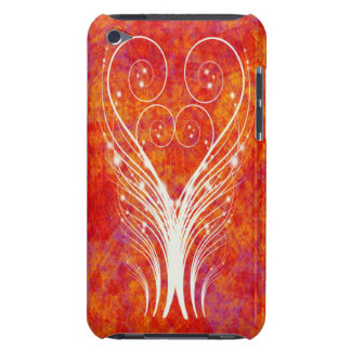 FEATHERY SWIRLS Touch  Barely There iPod Cover