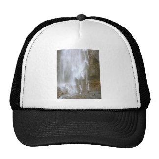 Feathery Waterfall Mt Rainier National Park Photo Trucker Hats