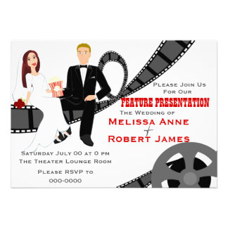 Feature Presentation Wedding Announcement