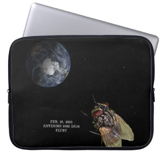 Feb 15 2013 Asteroid 2012 DA14 Flyby Laptop Computer Sleeves