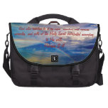 Feb 4th - Bible Verse Birth Bag Bags For Laptop