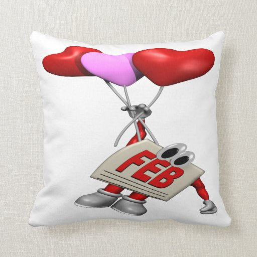 February Pillow