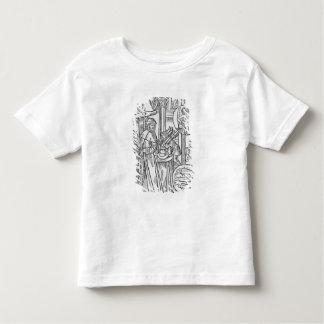 February, interior scene, Aquarius Toddler T-Shirt