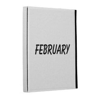 february iPad folio cases