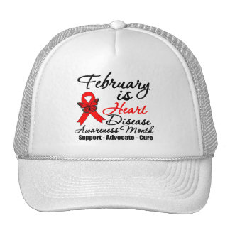 February is Heart Disease Awareness Month Hat