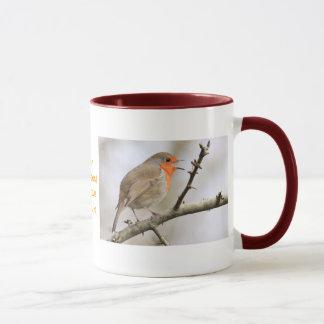 February Robin Mug